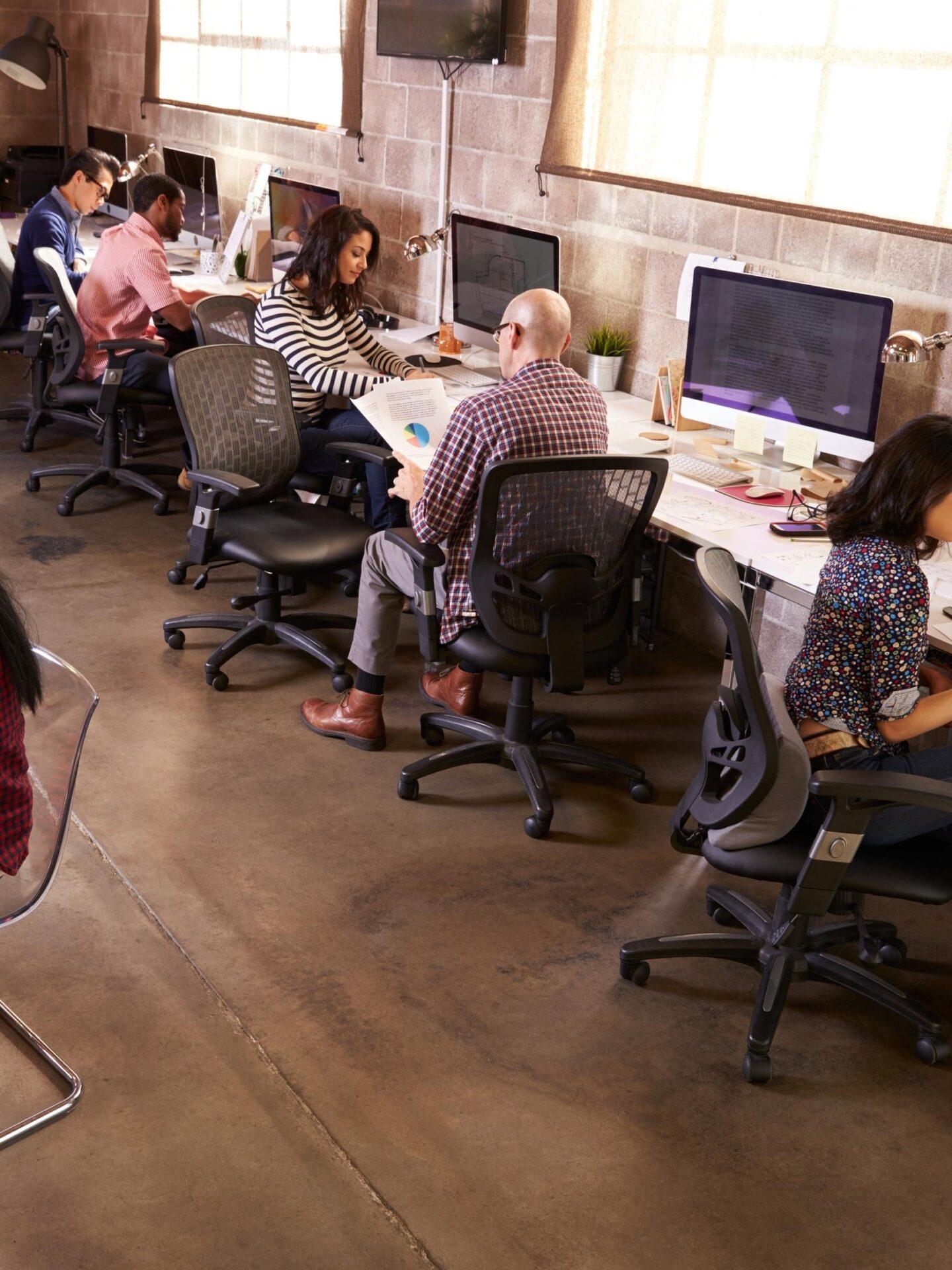 small office refurbishment project in Melbourne