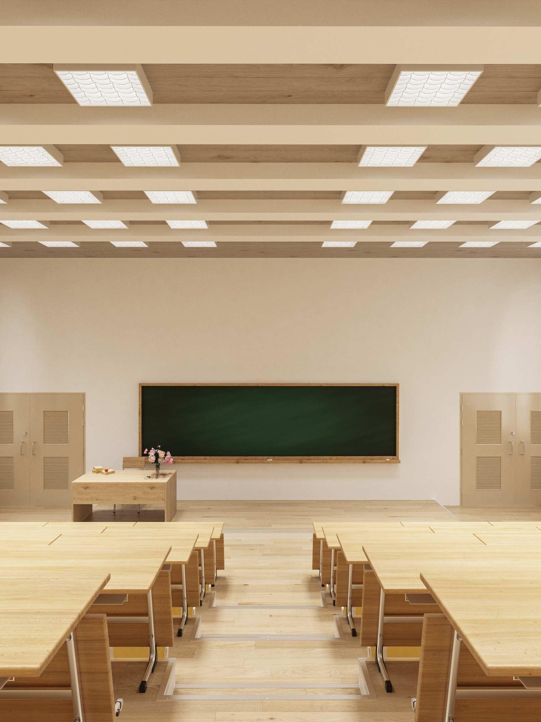 lecture theatre in Monash University Melbourne